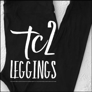 TC2 Lularoe Leggings Black- 2 Pairs